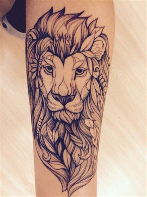 lion henna tattoo henna makedes