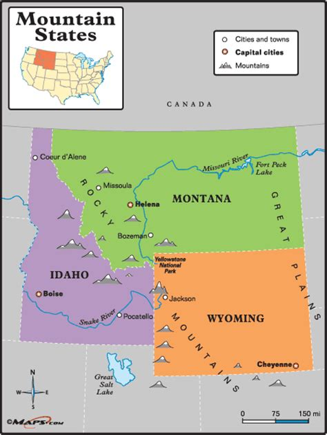 mountains united states map opinions on mountain states