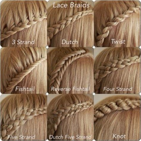 different types of braids with pictures google search different types of waterfall braids by abella s braids one