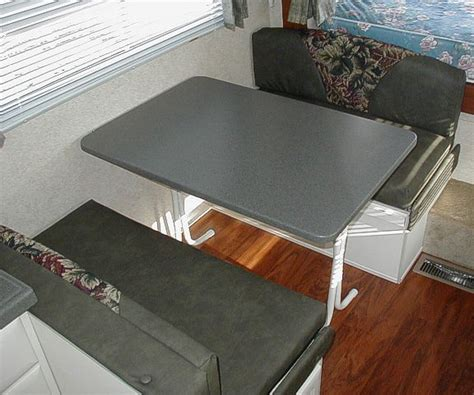 rv folding dinette table rv dinette table top
