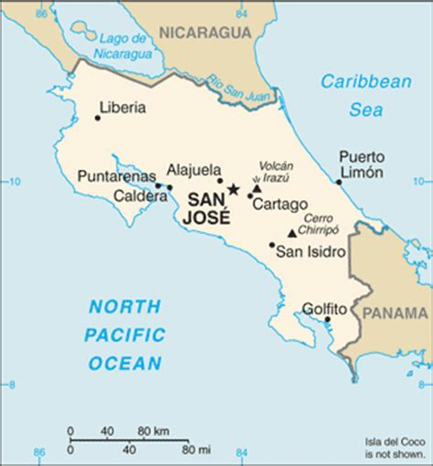 map of san jose international airport costa rica list of airports in costa rica