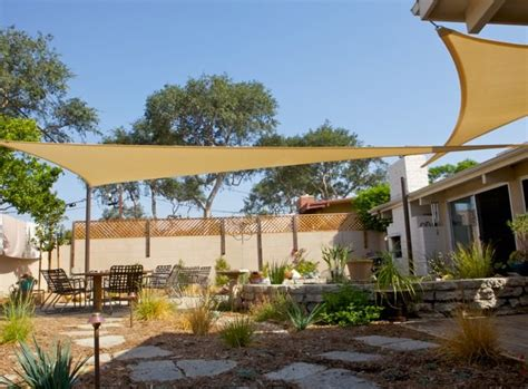 backyard shade sail backyard shade sails landscaping network