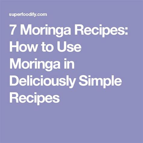 Moringa Detox Side Effects by Best 25 Moringa Uses Ideas On Moringa