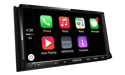 carplay android kenwood s aftermarket carplay and android auto systems now shipping mac rumors