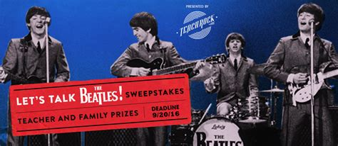 The Talk Sweepstakes - the beatles sweepstakes