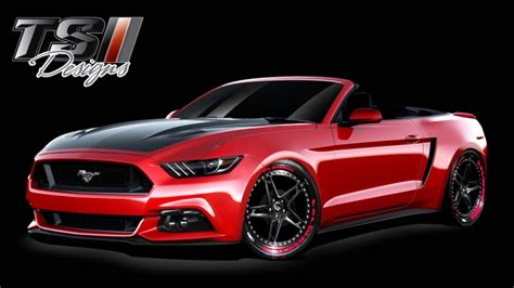 mustang designs ford previews custom mustangs for sema autoblog