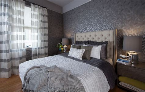 Gray Bedroom Houzz Gray Moody Bedroom Transitional Bedroom San
