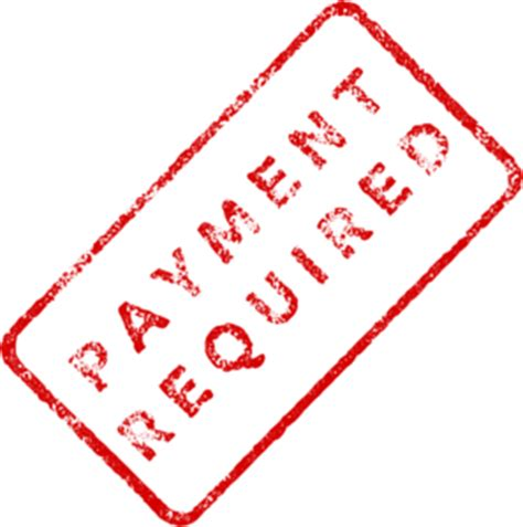 faded payment required stamp clip art at clker com