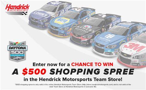 Daytona 500 Sweepstakes - hendrick motorsports daytona 500 sweepstakes