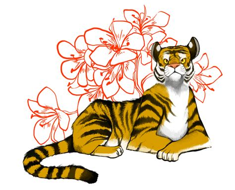 chinese zodiac tiger by zennore on deviantart
