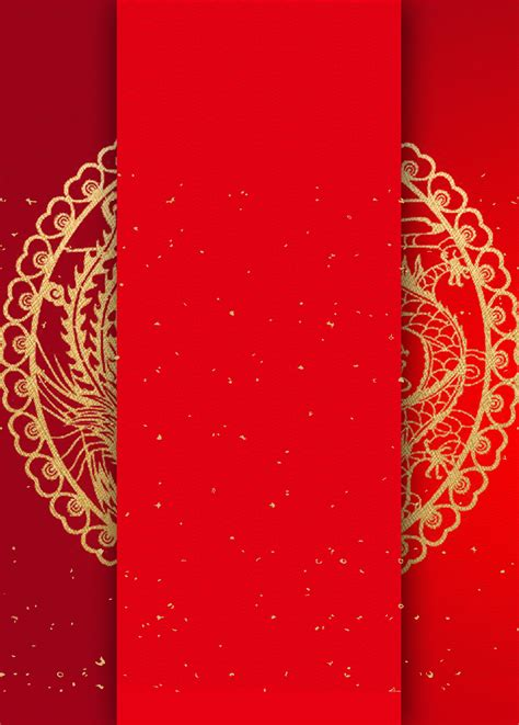 chinese wind invitation wedding background material