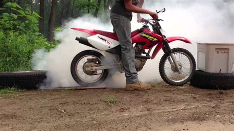 what is the best motocross best dirt bike burnout ever youtube