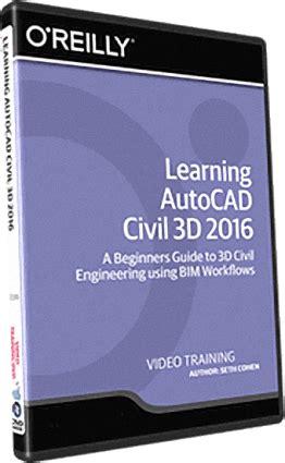 tutorial autocad civil 3d 2016 infiniteskills learning autocad civil 3d 2016 training