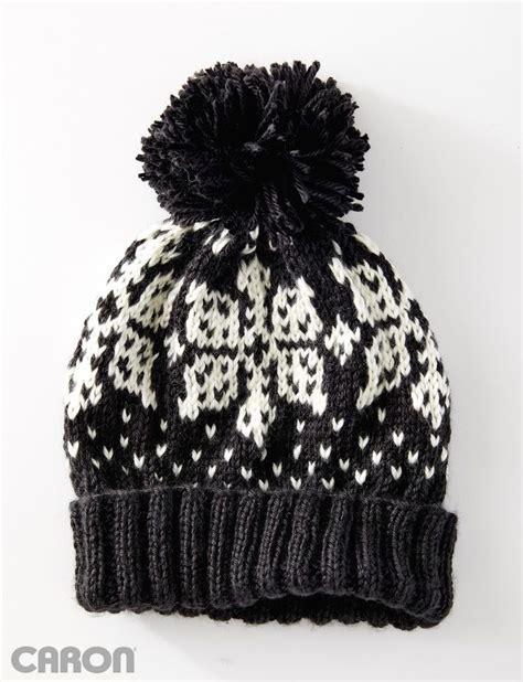 caron yarnspirations yarnspirations com caron nordic flake hat patterns