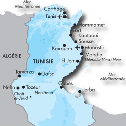 hotel eldorador vincci nour  mahdia tunisie