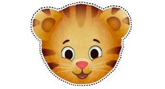 daniel tiger masks birthday party favors pbs parents pbs