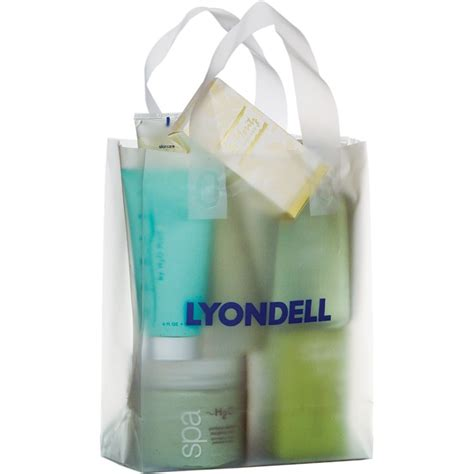 Promo Bag 5 clear logo promotional bags to pack marketing goodies in