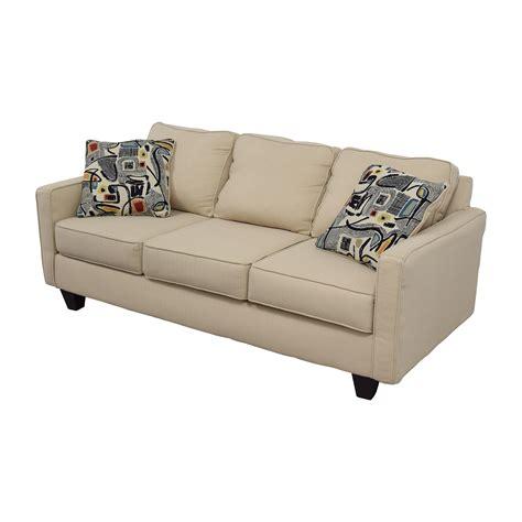 wayfair wayfair allmodern  cushion beige couch   pillows sofas