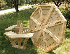 plans  walk  octagon picnic table octagon