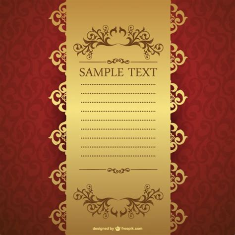 template invitation free free invitation template vector free