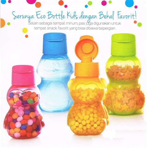 Botol Eco Tupperware 310ml buy tupperware eco bottle mini 310ml deals for only rp109