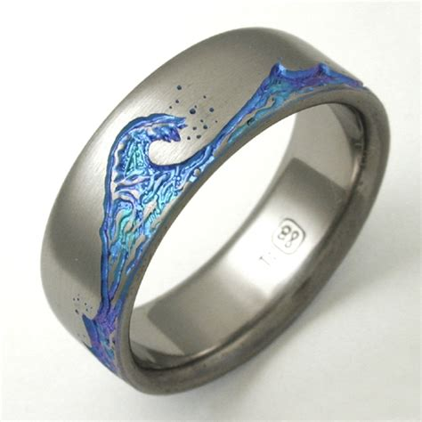 how to make titanium jewelry titanium paradise titanium wedding rings handcrafted by