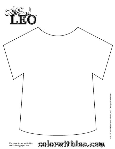 t shirt pattern to color free art lessons and activities for kids