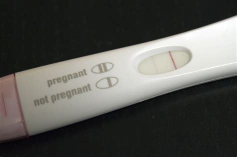 what does a negative pregnancy test look like
