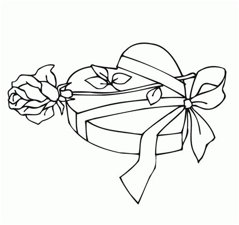 coloring pages hearts and roses coloring home