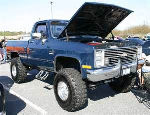 1985 trucks lifted chevy silverado truck