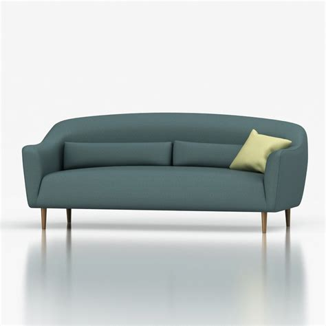 pennie sofa 3d crate and barell pennie sofa high quality 3d models