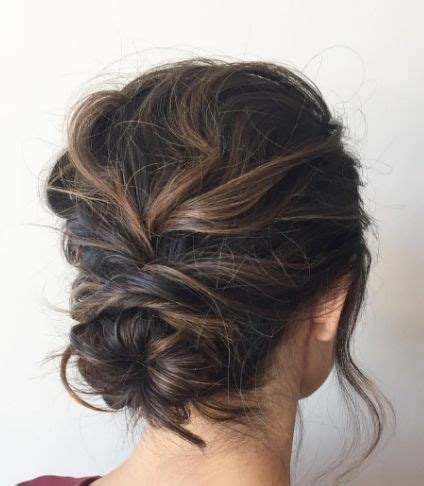 hair style interlok bun ashley petty wedding hairstyle inspiration weddings