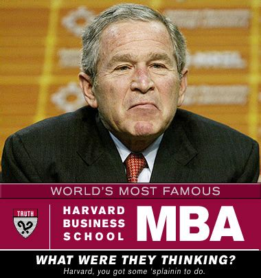 South Harvard Mba Graduates by George Bush Harvard Mba World S Most Harvard Mba