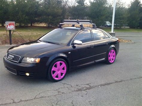 pink audi a4 audi a4 pink rims google search my dream cars