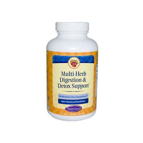 Medically Supported Detox by Cleansing And Detox Buy Nature S Secret Multi Herb