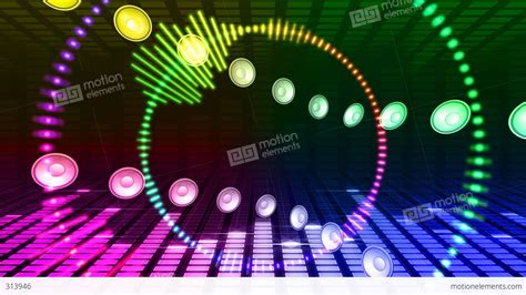 vj imagehd dj sound bc stock animation 313946