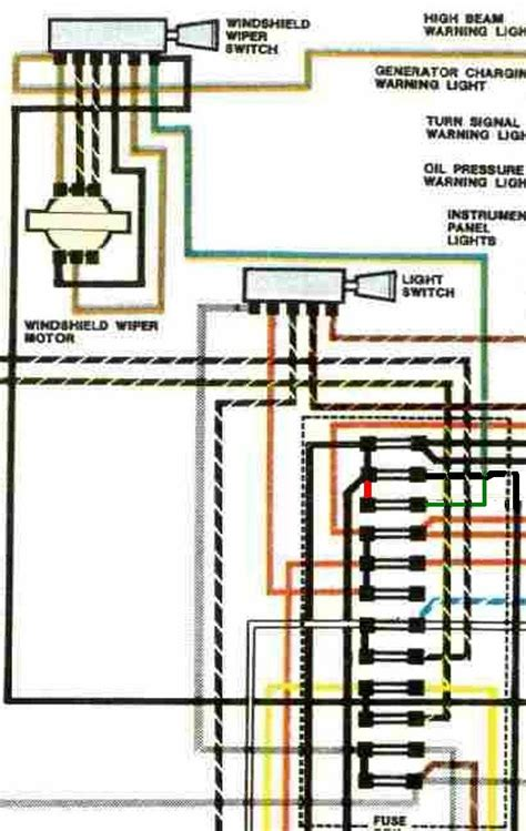 vw beetle and beetle 1971 electrical wiring diagram