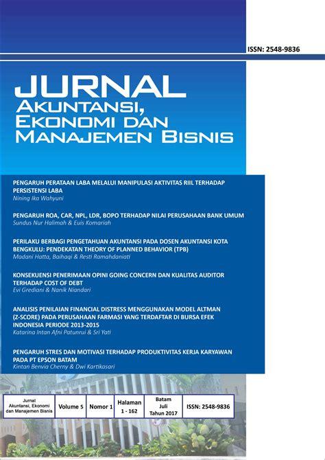 cara membuat jurnal manajemen bisnis jurnal polibatam