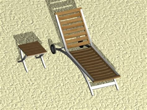 beach benches beach bench 3d max