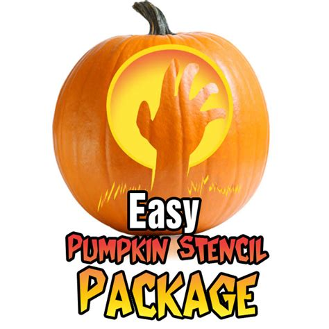 easy pumpkin templates easy pumpkin carving stencil package ultimate pumpkin