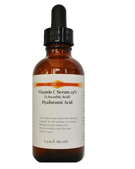 Serum Vit C Probio C vitamin c l ascorbic acid 25 with hyaluronic acid anti aging serum ebay
