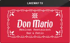 Buy Restaurant Gift Cards - buy don mario mexican restaurant gift cards raise