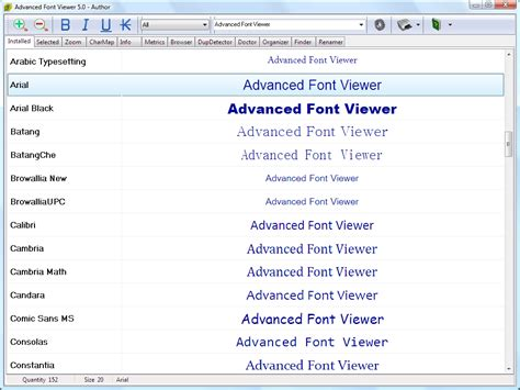 printable font viewer font viewer for windows 7 vista xp free and easy font