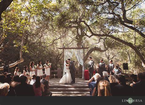 oak canyon nature center anaheim wedding nathan and linh