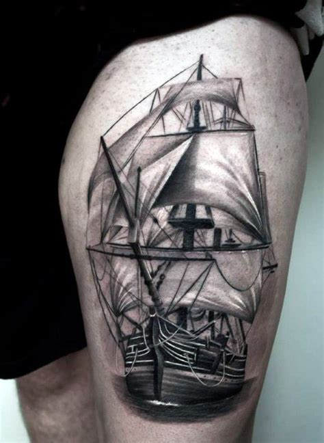 upper leg tattoos for men top 75 best leg tattoos for sleeve ideas and designs