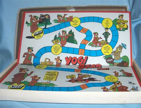 Yogi Board toys yogi board 1980 milton bradley co ages 6 10 gifts and collectibles galore