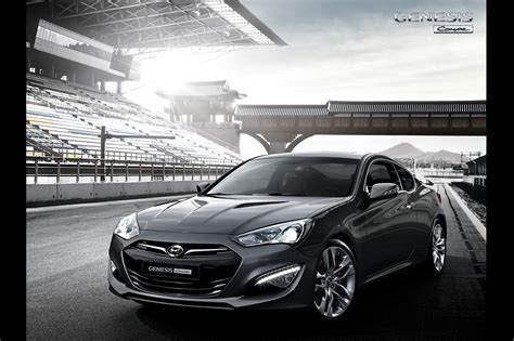 hyundai genesis coupe kdm new official photos plus kdm brochure of 2013 hyundai