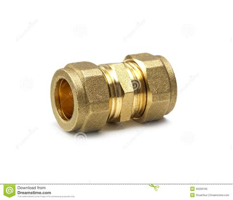 Compression Joint Plumbing by Plumbing Stock Photo Image 45056165