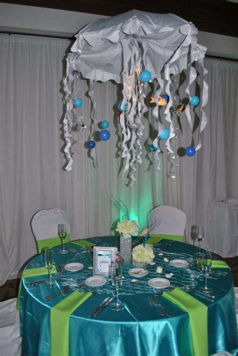 quinceanera themes under the sea under the sea beach quincea 241 era party ideas photo 6 of