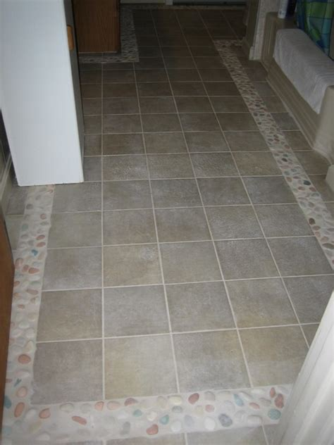 bathroom border tile designs bathroom floor tile border transitional bathroom